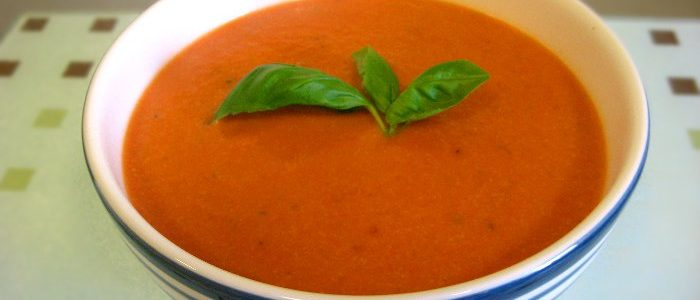 Creamy Tomato Soup | Fairfoods Vegan Catering