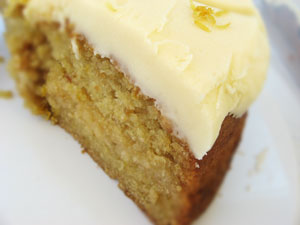 lemon cake, vegan