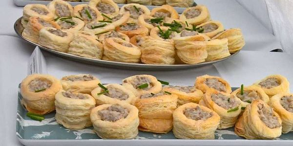 Fairfoods Catering - vegan vol-au-vents