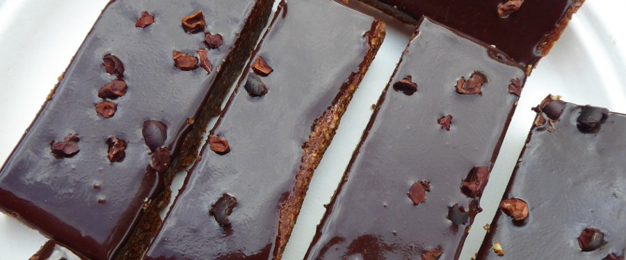 hi-raw choc brownie, vegan