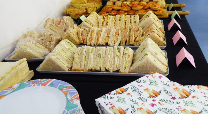 Vegan Wedding Buffet Catering - Sandwiches