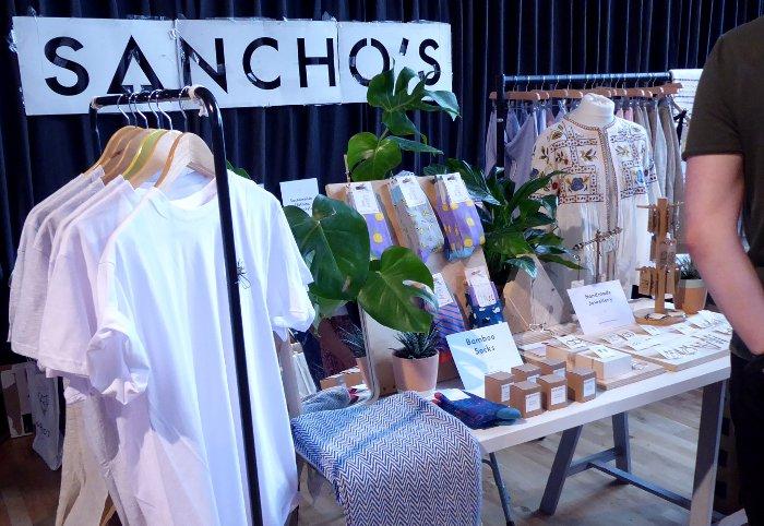 Sancho's - Exeter Vegan Market 10-2pm, Sat 13th October