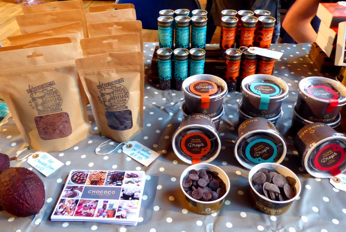 Chococo - Exeter Vegan Market 10-2pm, Sat 13th October