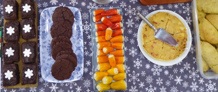 Vegan Christmas Buffet