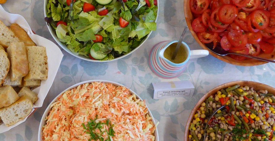 Vegan Salads | Fairfoods