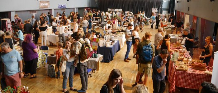 Exeter Vegan Market Main Hall