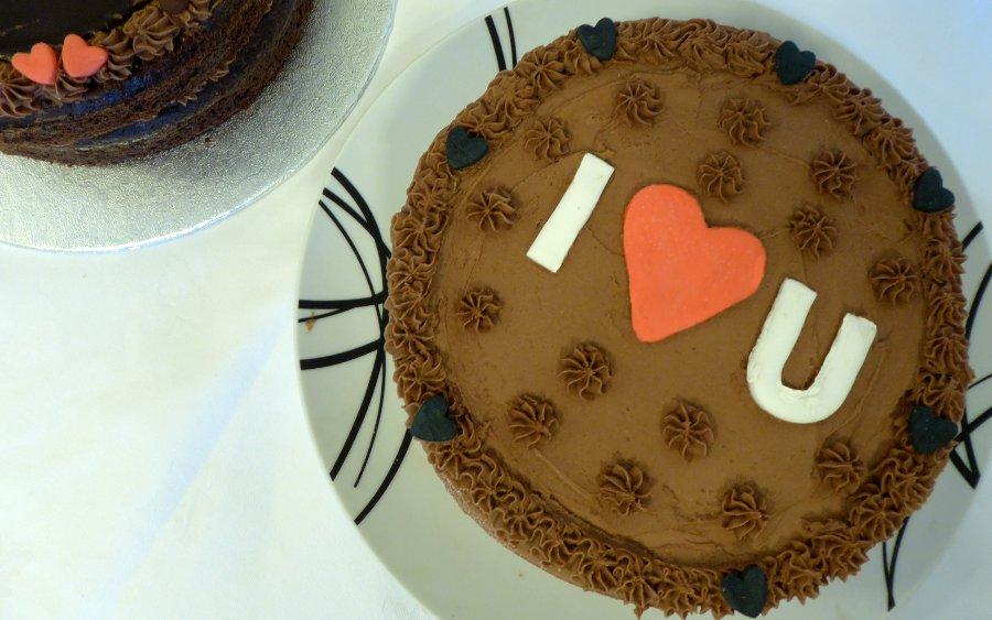 I Love U, Chocolate Cake | Fairfoods Vegan Catering