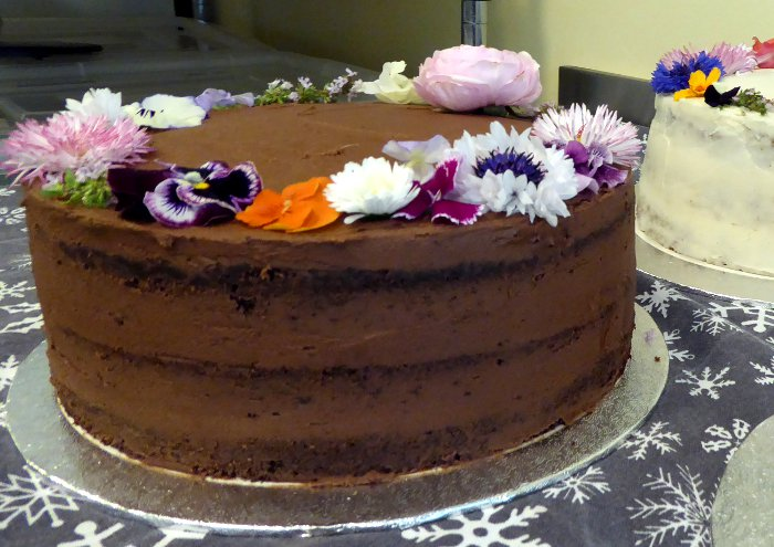 Chocolate Fudge Cake, Vegan