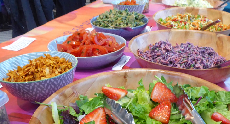 Vegan Salad Bar | Fairfoods