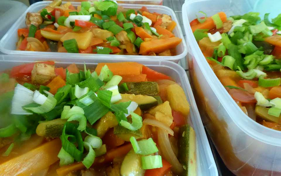 Sweet and Sour With Tofu | Fairfoods Vegan Catering