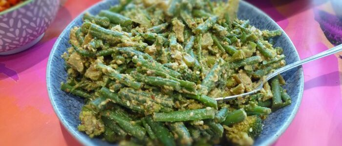 Sesame Green Bean Salad - Fairfoods