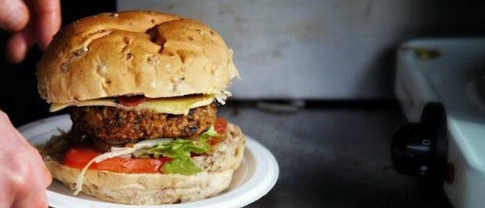 Our Vegan Burger 700 | Fairfoods