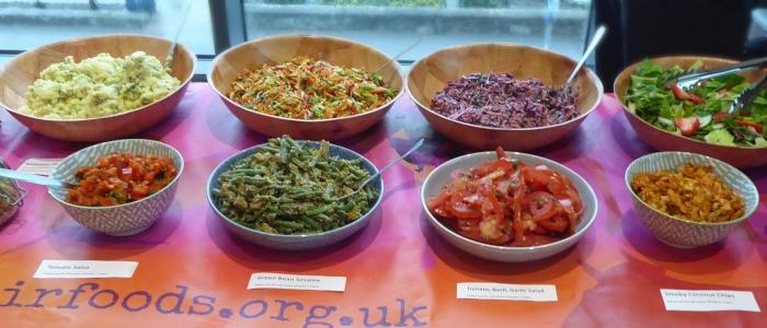 Salad Bar | Fairfoods Vegan