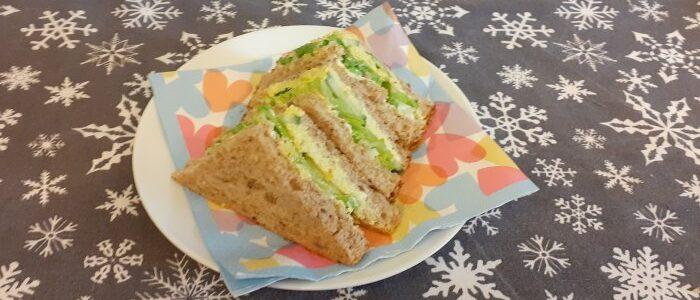 Vegan Egg Mayo Sandwiches | Fairfoods