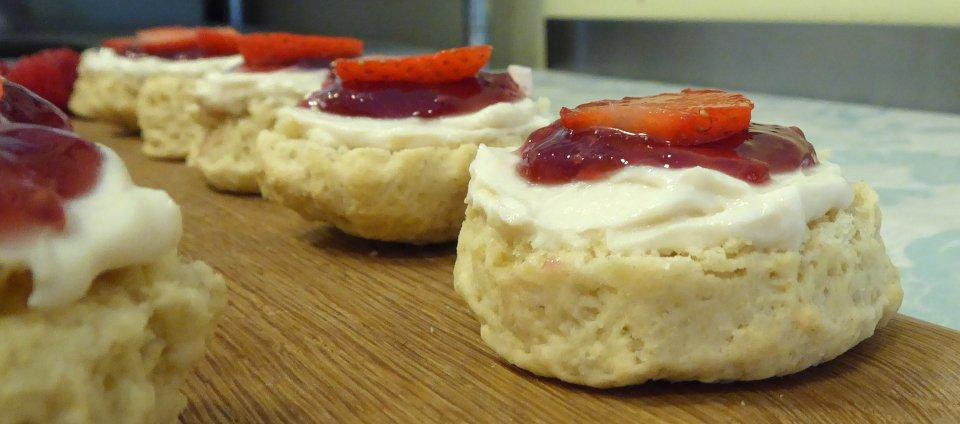 Vegan Scones Cream Jam | Fairfoods